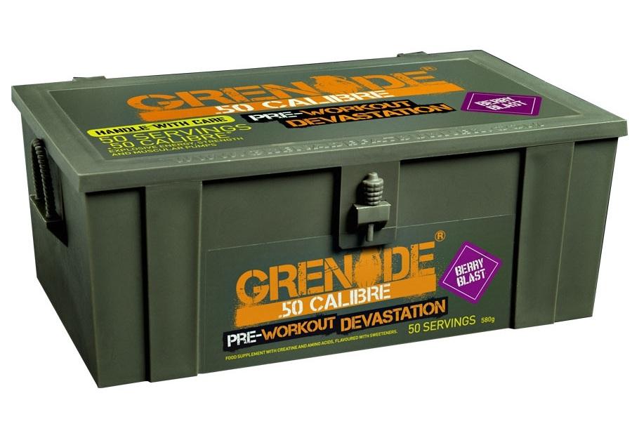 Grenade 50 Calibre Preworkout